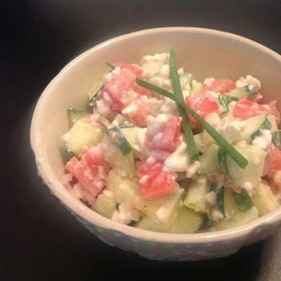 Cottage Cheese Salad - RecipeNode.com