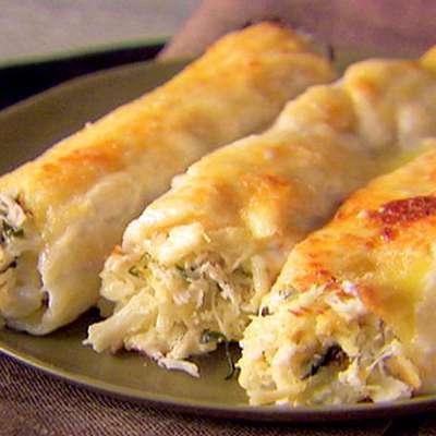 Crab and Ricotta Cannelloni - RecipeNode.com
