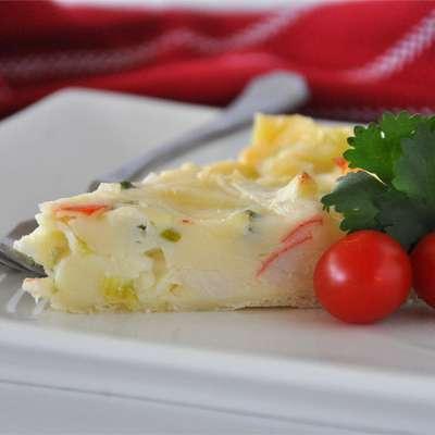 Crab Quiche I - RecipeNode.com