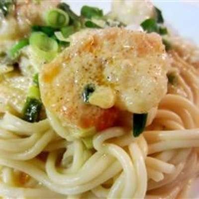 Crayfish or Shrimp Pasta - RecipeNode.com