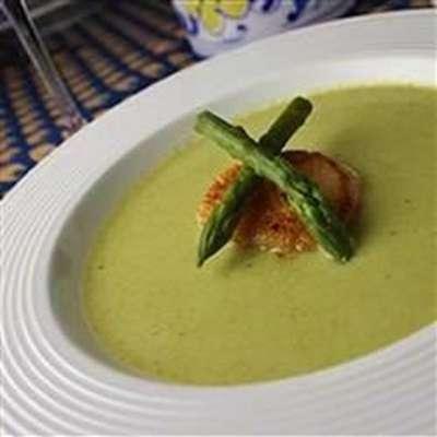 Cream of Fresh Asparagus Soup II - RecipeNode.com