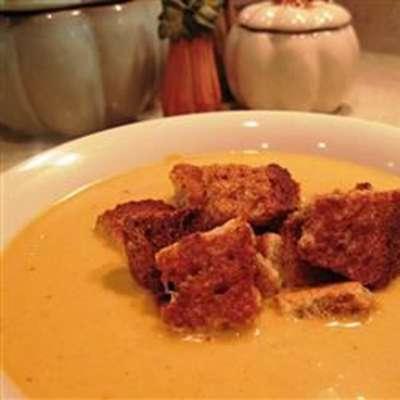 Cream of Pumpkin Soup - RecipeNode.com