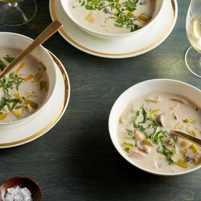 Cream of Wild Mushroom Soup - RecipeNode.com