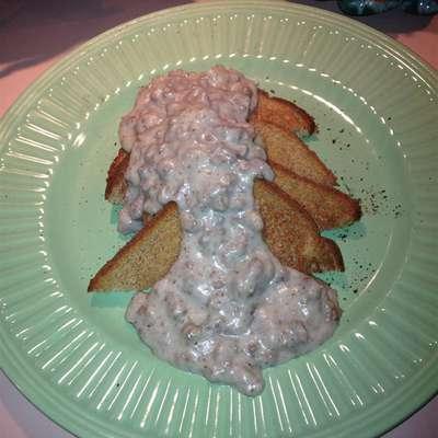 Creamed Beef for SOS - RecipeNode.com