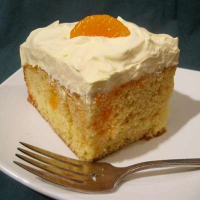 Creamy Orange Cake - RecipeNode.com