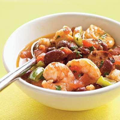 Creole Shrimp and Sausage Stew - RecipeNode.com