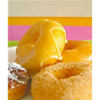 Crispy and Creamy Doughnuts - RecipeNode.com