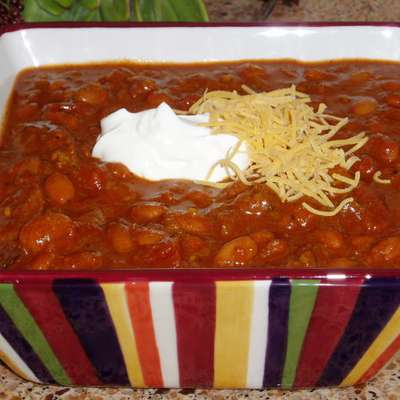 Crock Pot Chili Chili and Beans - RecipeNode.com