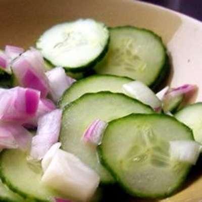 Cucumber Salad I - RecipeNode.com