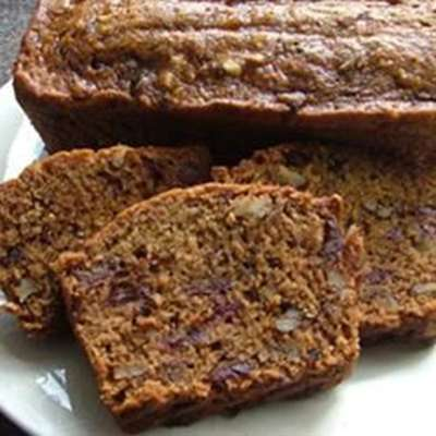 Date Nut Loaf Cake - RecipeNode.com