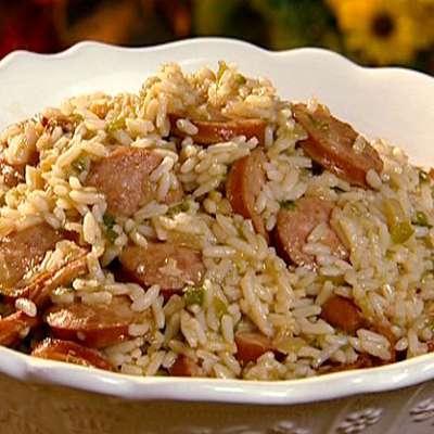 Dirty Rice with Smoked Sausage - RecipeNode.com