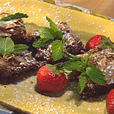 Double Chocolate Gooey Butter Cake - RecipeNode.com