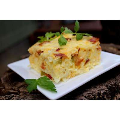 Easter Breakfast Casserole - RecipeNode.com