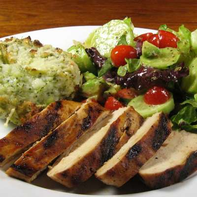 Easy Grilled Lime Chicken- W/ OAMC Directions Too! - RecipeNode.com
