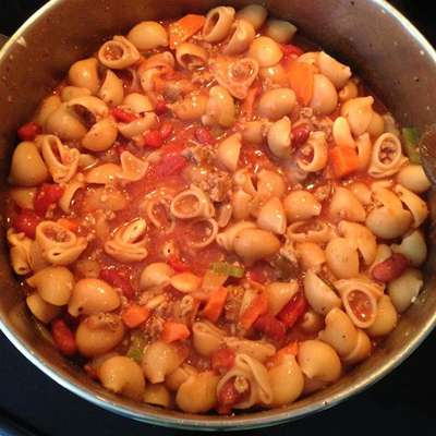 Easy Pasta Fagioli - RecipeNode.com