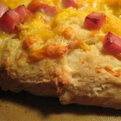 Eggs Benedict Breakfast Pizza - RecipeNode.com