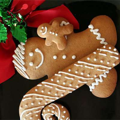Eileen's Spicy Gingerbread Men - RecipeNode.com