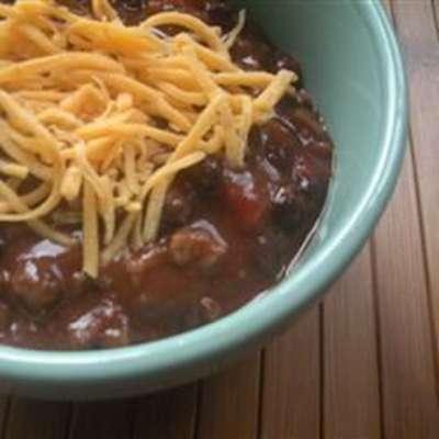 Fantastic Black Bean Chili - RecipeNode.com