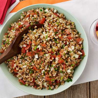 Farro Salad with Tomatoes and Herbs - RecipeNode.com