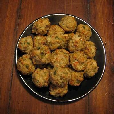 Feta and Olive Meatballs - RecipeNode.com