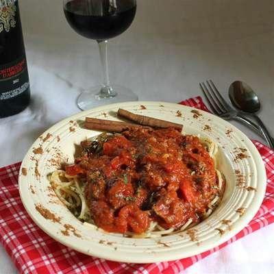 Field Grade Spaghetti Sauce - RecipeNode.com