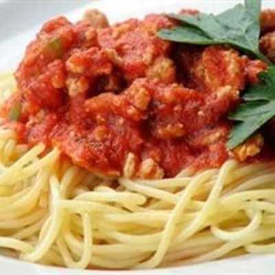 Frank's Famous Spaghetti Sauce - RecipeNode.com
