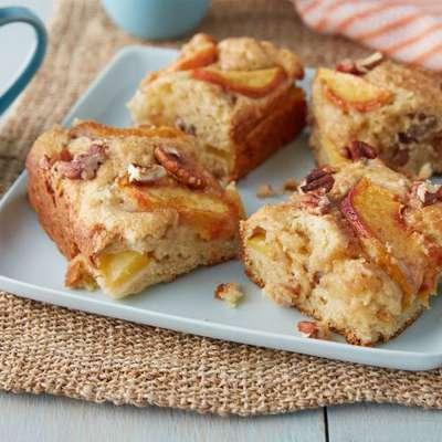 Fresh Peach Cake - RecipeNode.com