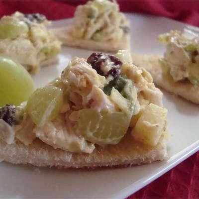 Fruity Curry Chicken Salad - RecipeNode.com
