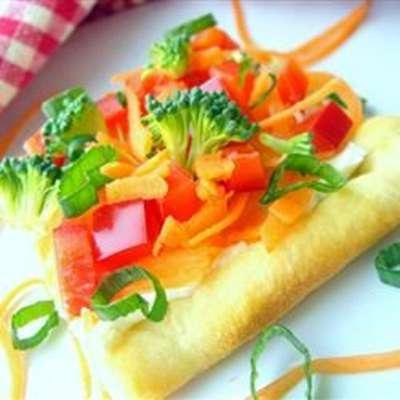 Garden Veggie Pizza Squares - RecipeNode.com