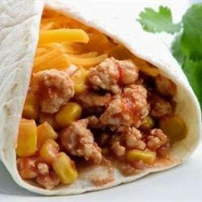 Gary's Turkey Burritos - RecipeNode.com