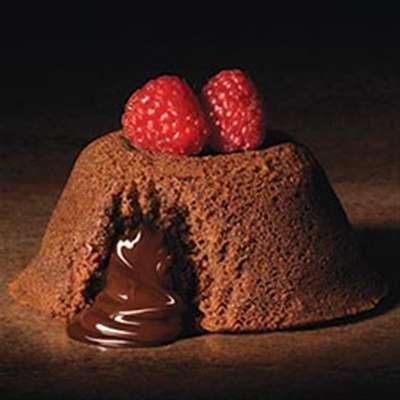 Ghirardelli® Individual Chocolate Lava Cakes - RecipeNode.com