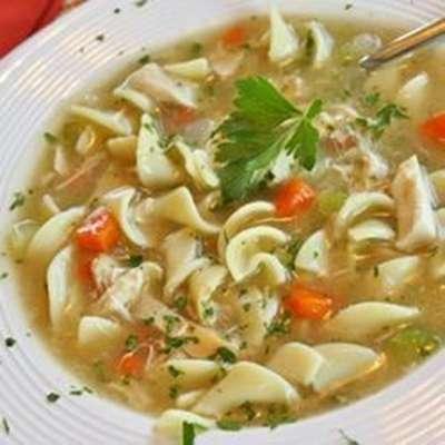 Grandma's Chicken Noodle Soup - RecipeNode.com