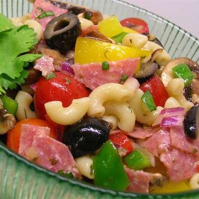 Greek Pasta Salad I - RecipeNode.com