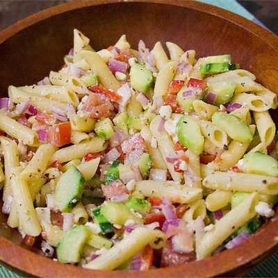 Greek Pasta Salad - RecipeNode.com