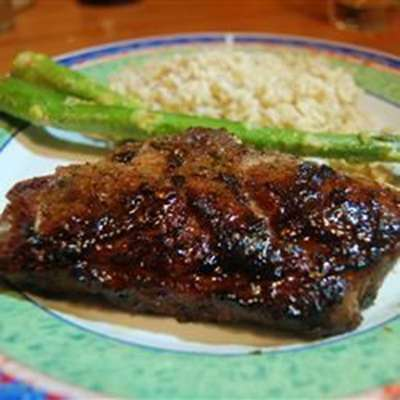 Grilled Lamb with Brown Sugar Glaze - RecipeNode.com
