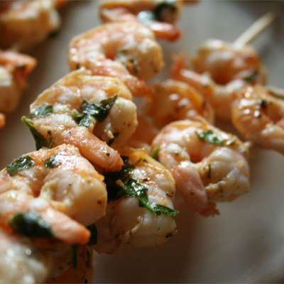 Grilled Marinated Shrimp - RecipeNode.com