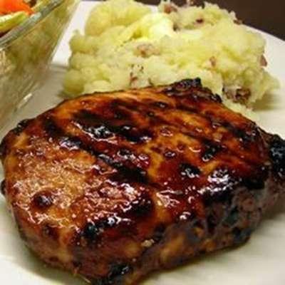 Grilled Mongolian Pork Chops - RecipeNode.com