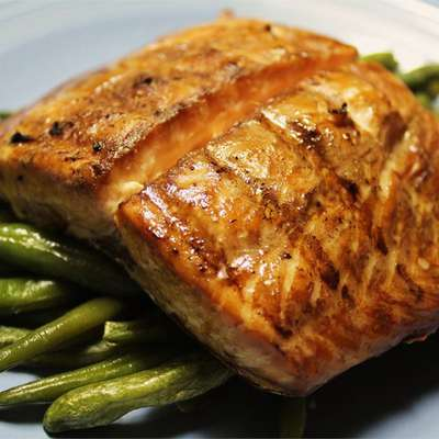 Grilled Salmon I - RecipeNode.com