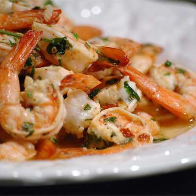 Grilled Shrimp Scampi - RecipeNode.com