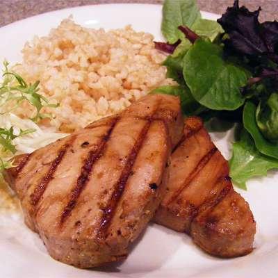 Grilled Teriyaki Tuna - RecipeNode.com