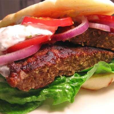Gyros Burgers - RecipeNode.com