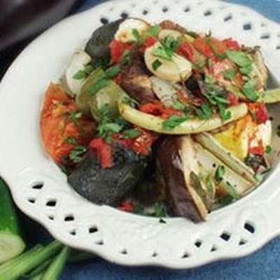 Hariton's 'Famous' Vegetarian Casserole - RecipeNode.com
