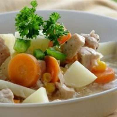 Hearty Turkey Stew with Vegetables - RecipeNode.com