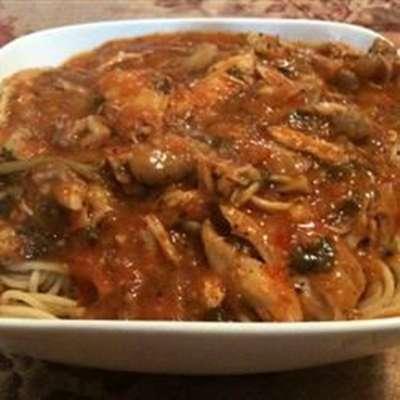 Homemade Chicken Cacciatore, Sicilian-Style - RecipeNode.com