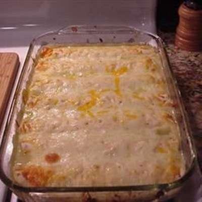 Honey-Lime Enchiladas - RecipeNode.com