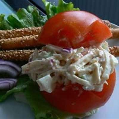 Imitation Crab Salad - RecipeNode.com