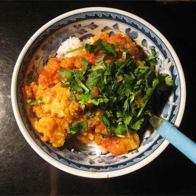 Indian Fish Curry - RecipeNode.com