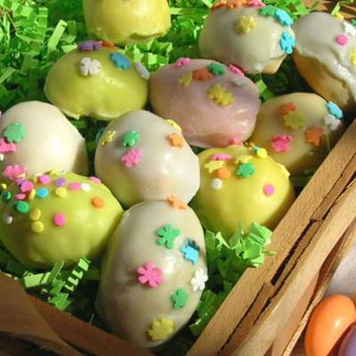 Italian Anise Cookies With Icing and Sprinkles - RecipeNode.com