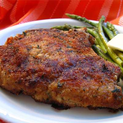 Italian Breaded Pork Chops - RecipeNode.com