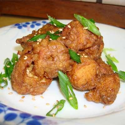 Japanese-Style Deep Fried Chicken - RecipeNode.com